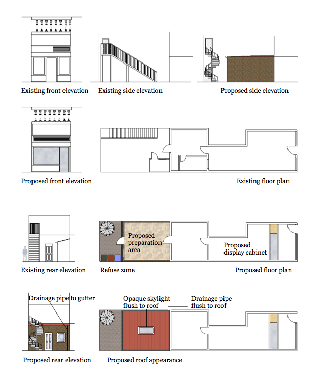 Inspirational Permission granted for a rear extension